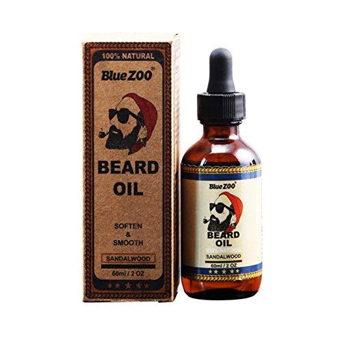 Symeas Beard Oil Crème Nourrissante Naturelle et Adoucissante Huile de Croissance des Cheveux pour la Croissance de la Barbe