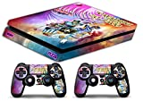 Skin PS4 SLIM HD - CABALLEROS DEL ZODIACO - limited edition DECAL...
