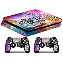 Skin PS4 SLIM HD - CABALLEROS DEL ZODIACO - limited edition DECAL COVER ADHESIVO playstation 4 SLIM SONY BUNDLE