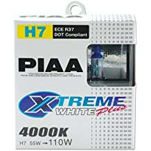 PIAA Xtreme Blanco Mas Bombilla H7 55W Iqual a 110W - Pair PN: HE309