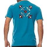 Tee Shirt MC Pasri Bleu Azur - Oxbow