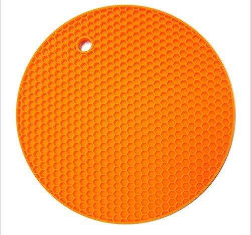Asentechuk Silikon Honeycomb Tisch Sets Tischmatten Dicker Topflappen Antirutschmatte Adiabatische Wrmedmmung Topf Pad