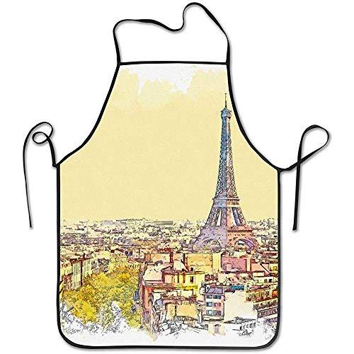 Katrine Store Acuarela Hermosa Vista París Francia