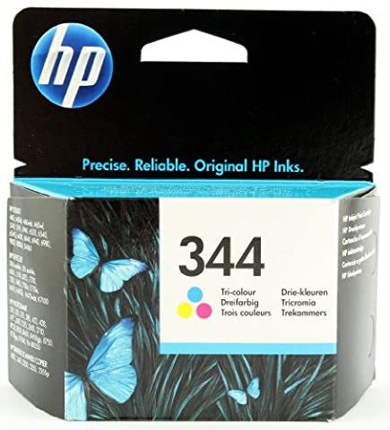 HP 344 Farbe Original Druckerpatrone für HP Deskjet, HP Officejet, HP Photosmart, HP PSC
