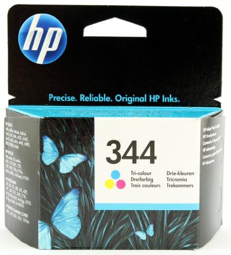 HP 344 Farbe Original Druckerpatrone für HP Deskjet, HP Officejet, HP Photosmart, HP PSC (8750 Photosmart Hp)