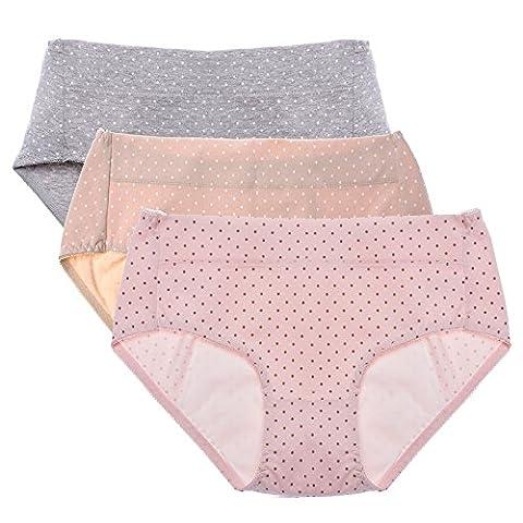 Culotte Adulte - Intimate Portal Femme Sous-vêtements en Coton Anti-fuite