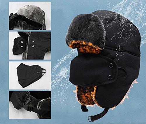 Warm Unisex Winter Trapper Trooper Hat 382933c6b0a8