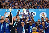 LEICESTER CITY FC – PREMIER LEAGUE CHAMPIONS 15/16 - Imported Football Wall Poster Print - 30CM X 43CM Brand New F.C