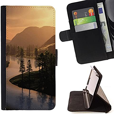 For Samsung Galaxy Note 4 IV Case , Opiniones del campo- la tarjeta de Crédito Slots PU Funda de cuero Monedero caso cubierta de