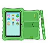 Tableta para niños Yuntab Q88H - 7 pulgadas, software iWawa preinstalado (Android 4.4.2 KitKat, Quad-Core, WiFi y Bluetooth, cámara doble 1024x600HD, 8G, Google Play) (VERDE)