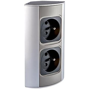Trano Tischsteckdose für Büro und Küche – Steckdosenleiste 3-fach ...