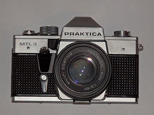Galleria fotografica Praktica MTL 3von Pentacon Made in GDR–Fotocamera reflex con obiettivo multistrato Pentacon auto 1.8/50# # analogico SLR Camera # # Top Ingegneria–Ok–by lll # #