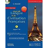 G Mauger Blue Cours de Langue et de Civilization Francaise 1 with Cd (Lecon 1-14)