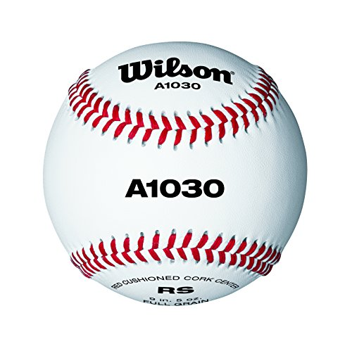 Wilson Baseball Official League, Weiß, 9 Zoll, WTA1030B Image