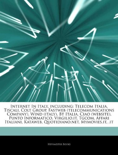 articles-on-internet-in-italy-including-telecom-italia-tiscali-colt-group-fastweb-telecommunications