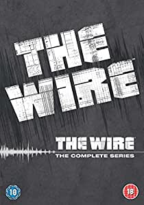 The Wire: Complete HBO Season 1-5 [DVD]