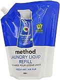 Method Laundry Detergent Liquid Refill Fresh Air 85 Wash 1020 ml