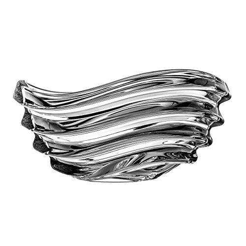 Crystelle aljulia Coque, Verre, 22cm, 22 x 16 x 11,5 cm