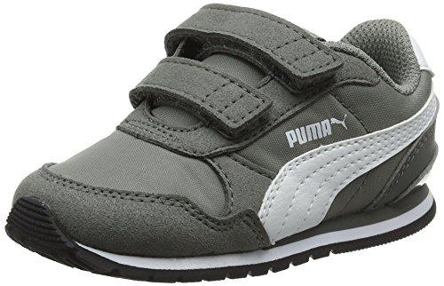 Puma Unisex Baby ST Runner v2 NL V Inf Sneaker Grau (Rock Ridge White), 27 EU