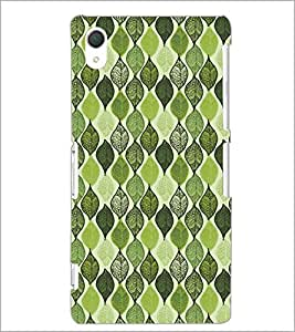 PrintDhaba Pattern D-5215 Back Case Cover for SONY XPERIA Z3 (Multi-Coloured)