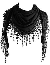 Amazon.fr   Pompons - Echarpes et foulards   Accessoires   Vêtements 1d4cc8e695f