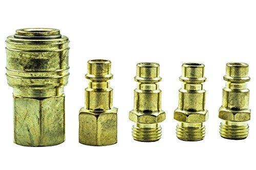 Kit Innesto Rapido Raccordi Compressore Aria Compressa, 12 mm