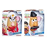 Toy Story 4 E3069EU4 Mr Classic Mr & Mrs Potato Head-Set da 2, Multicolore