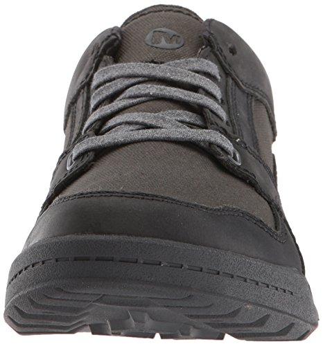 Merrell Mens Berner Sneakers In Pizzo Nero (nero)