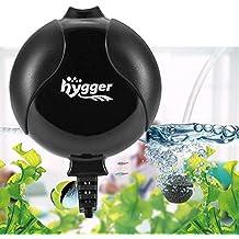 Hygger Bomba Aire Acuario Silencio Tranquilo Bomba Oxigeno de Aire Bomba de oxígeno para acuarios 1.5