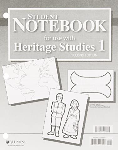 Student Notebook for use with Heritage Studies 1