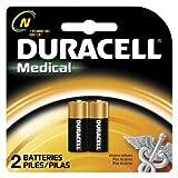 Duracell MN9100/E90/LR1 Medizinische Batterie 1,5 V Karte 2, Gr. N
