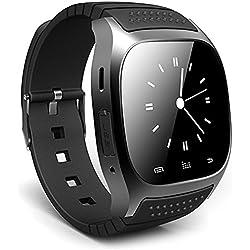 Leopard Shop RWATCH M26s Watch Smart Sports Bluetooth Sleep Management Pedometer Dialing SMS Black