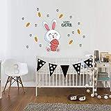 Gaddrt Adesivo Da Parete In Pvc Autoadesivo Happy Easter Wall Sticker Può Essere Rimosso Plane Wall Sticker Per Parete,Per Piastrelle