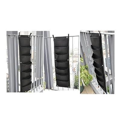 2-TECH Wandbegrünung Vertikaler Garten living wall vertical wall 160 cm * 30 cm ideal für an die Mauer, neben der Tür mit 10 Taschen Fassadenbegrünung von 2-TECH - Du und dein Garten