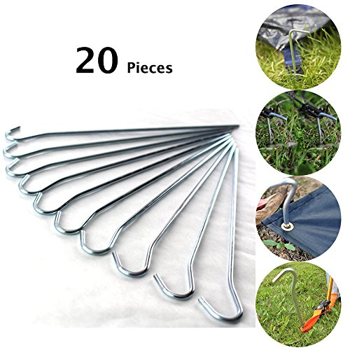 20-pack-heavy-duty-metal-ground-pegs-curved-hook-on-top-great-for-securing-camping-tents-awnings-goa