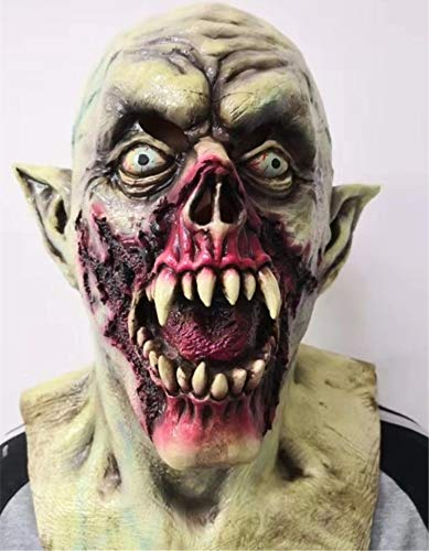 FLY FLU Halloween Latex Maske , Walking Dead Vollkopf Maske, Resident Evil Monster Maske, Zombie Kostüm Party Latex Maske Für Halloween (Maske Sind Anonymous Wir)