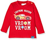 Disney 160835 T-Shirt, Rouge (Racing Red 19-1763tcx), 1 Anno Bimbo