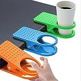 Soporte portavasos de mesa, de plástico, color al azar, paquete con 2 unidades, de Nalmatoionme