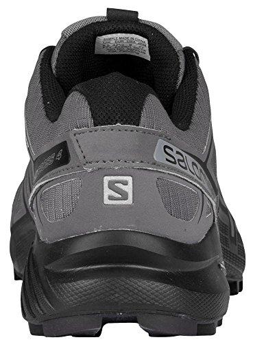 Salomon Homme Speedcross 4 Chaussures de Course à Pied et Trail Running gris foncé