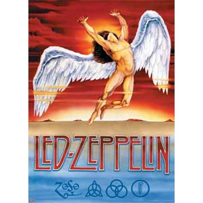 (40 x 55) LED Zeppelin (Swan Song, riesige) Musik Poster Druck Led Zeppelin-swan Song-poster