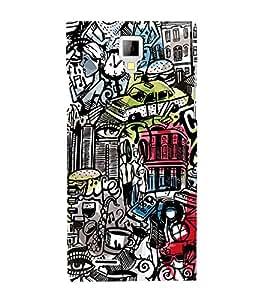 Citi Wine Disco Music 3D Hard Polycarbonate Designer Back Case Cover for Micromax Canvas Xpress A99