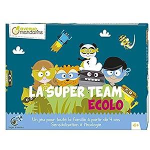 Avenue Mandarine-Juego de Bandeja, Team Ecolo, js003C, Sujetadores