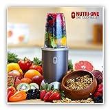Forty4Presenta el NUTRI One Blender Licuadora de Nutrientes * * Nutrientes extrahieren * 600W Bullet Top + Nuevo * * *