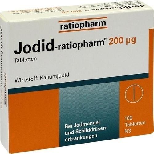 Jodid 200µg ratiopharm Jodtabletten 100St. 4620018