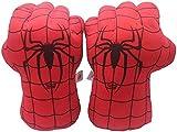 GOSTIN Plüsch-Boxhandschuh für Kinder, Spideman-Spielzeug, Superheld, Spideman-Handschuhe, Plüsch-Handschuhe, Fäuste, Incredibles Spider-Kostüm Cosplay für Jungen und Mädchen.