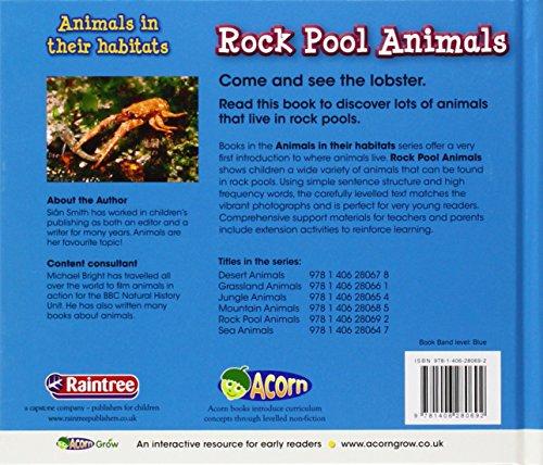 Rock Pool Animals (Animals in Their Habitats)