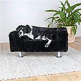 Trixie King de perros sofá, 78x 55cm), color negro