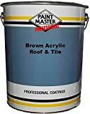 paintmaster Heavy Duty acrílico techo y pintura para azulejos?20L