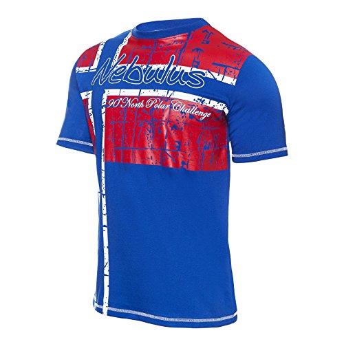 Nebulus T-Shirt Flagline kobalt Kobalt