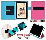 reboon Hülle für Blaupunkt Endeavour 1001 DVBT Tasche Cover Case Bumper | in Pink | Testsieger